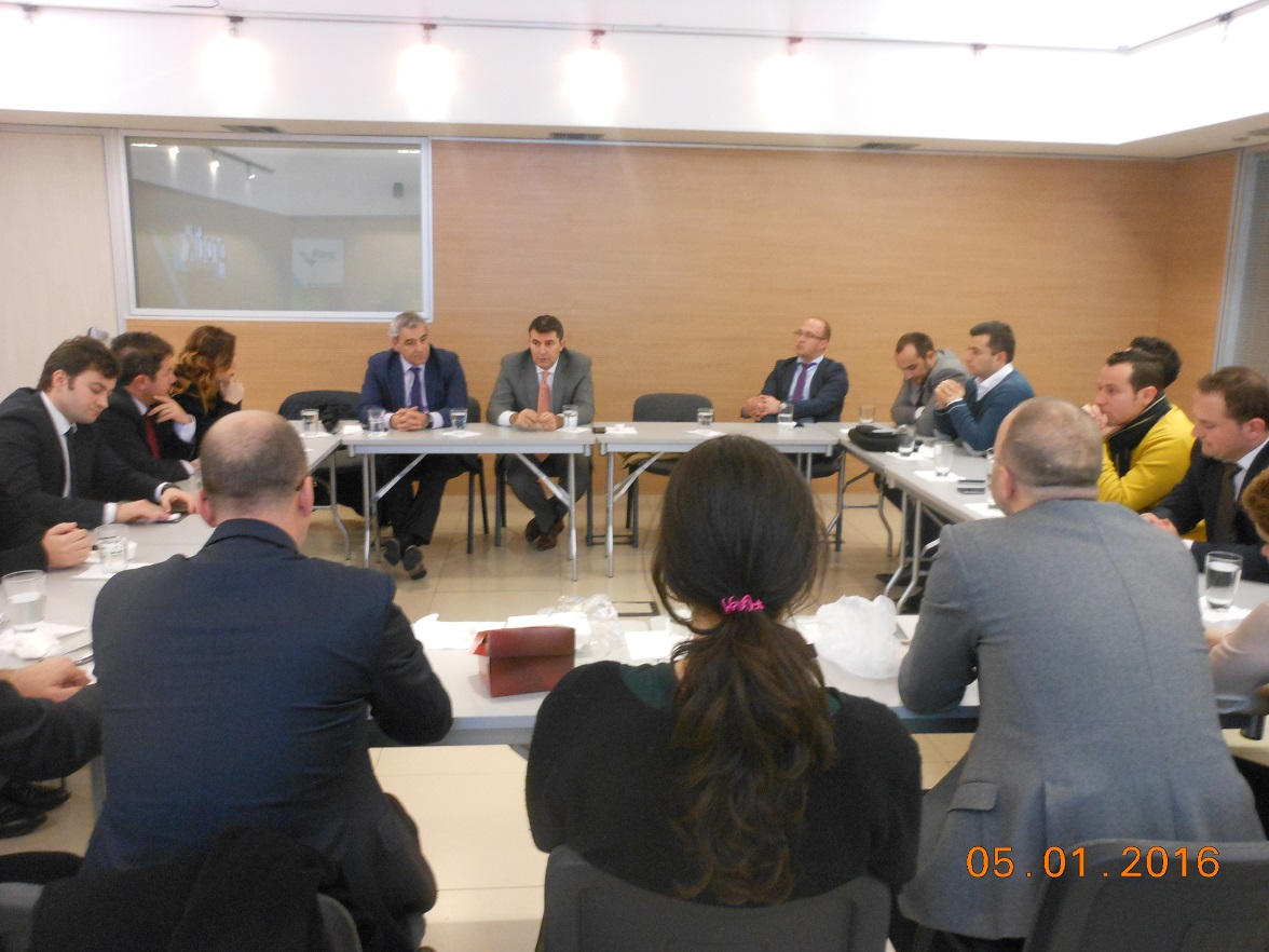 LEAD Albania Class 2014 & 2015 meet with AADF Co-CEOs
