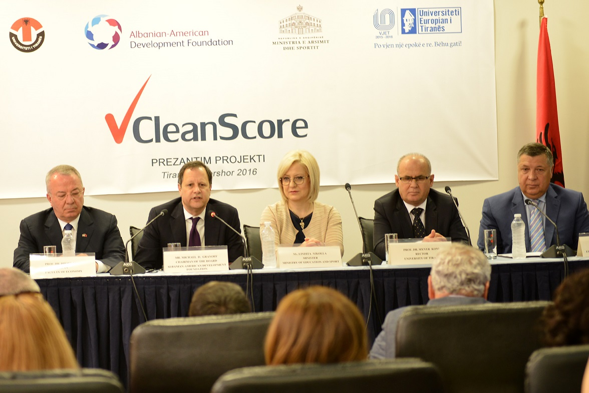 CleanScore launching new project