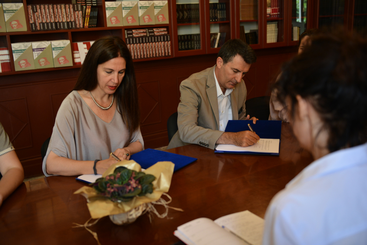 Agreement between the AADF and the Ministry of Culture on the new cultural heritage law.