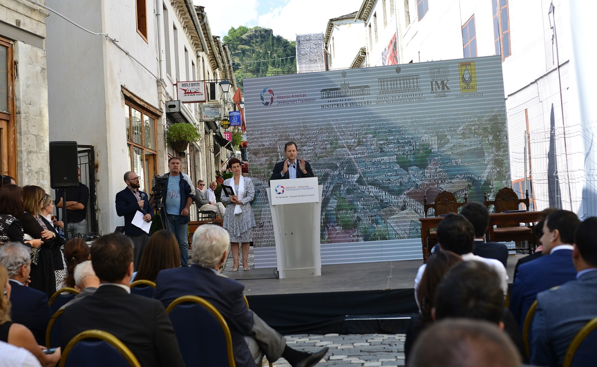 Signing of MoU and inauguration of restoration works – TID Gjirokastra
