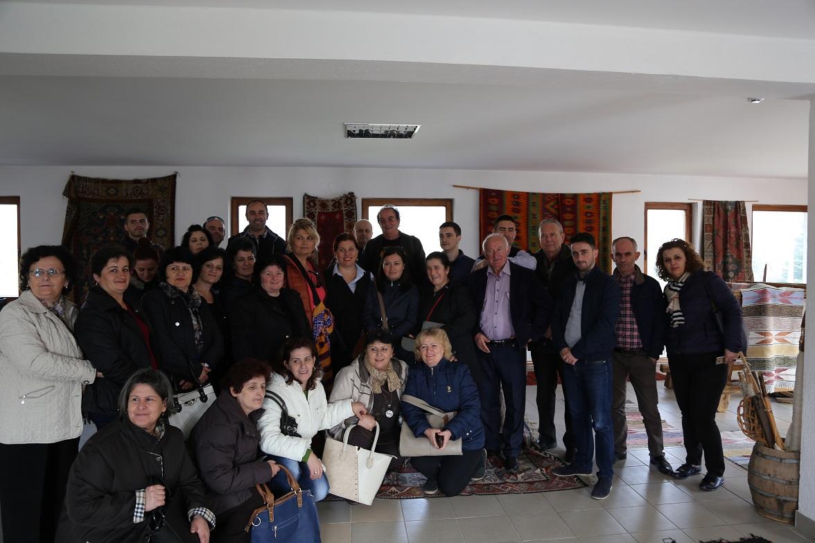 TID Kruja Study Tour in Shkodra and Sarajevo
