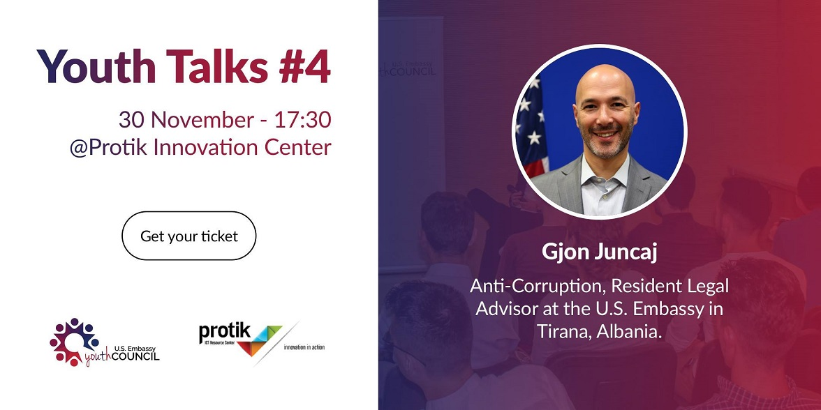 Youth talk #4 – Hosting Gjon Juncaj
