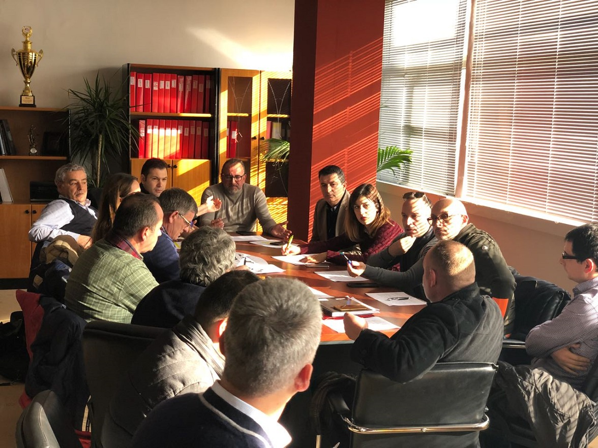 Meeting of the working group for restoration of the Historic Center of Vlora