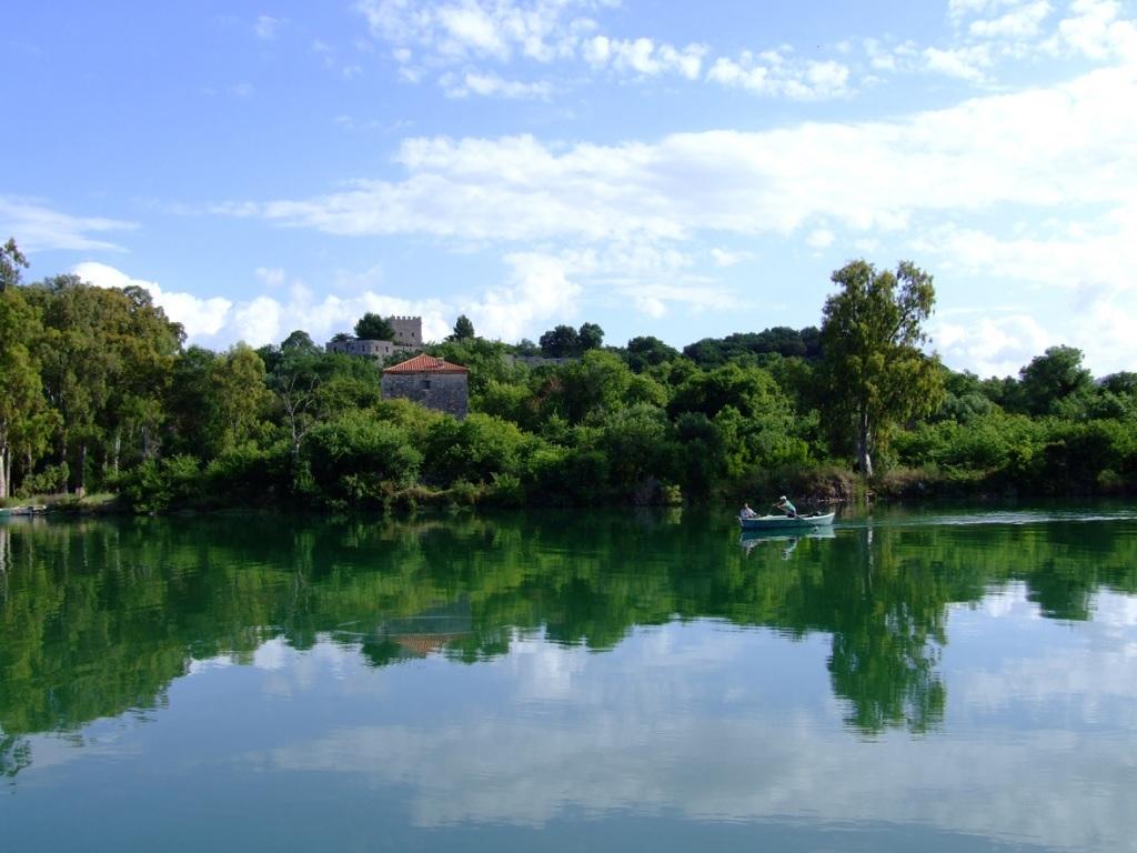 Butrint & boat