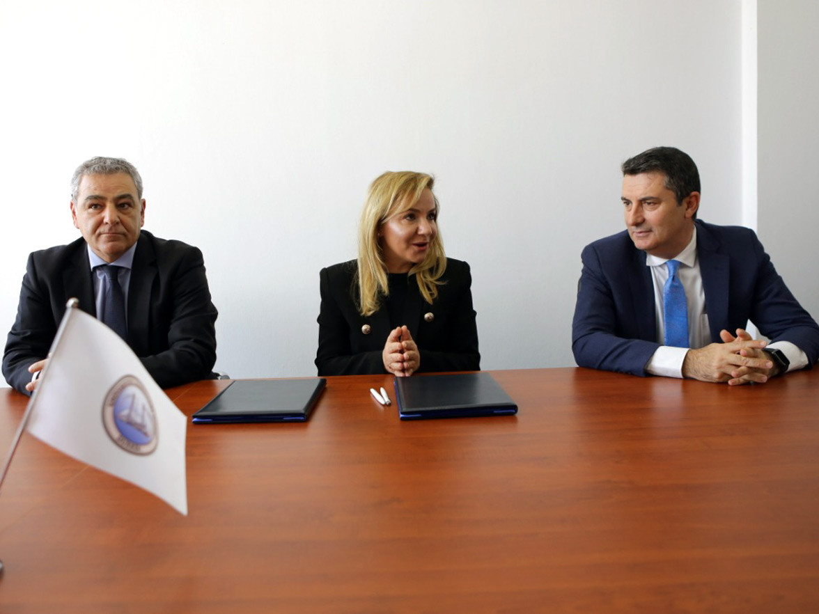"""CleanScore"" signing of the project implementation Agreement at ""Aleksandër Moisiu"" University, Durrës"