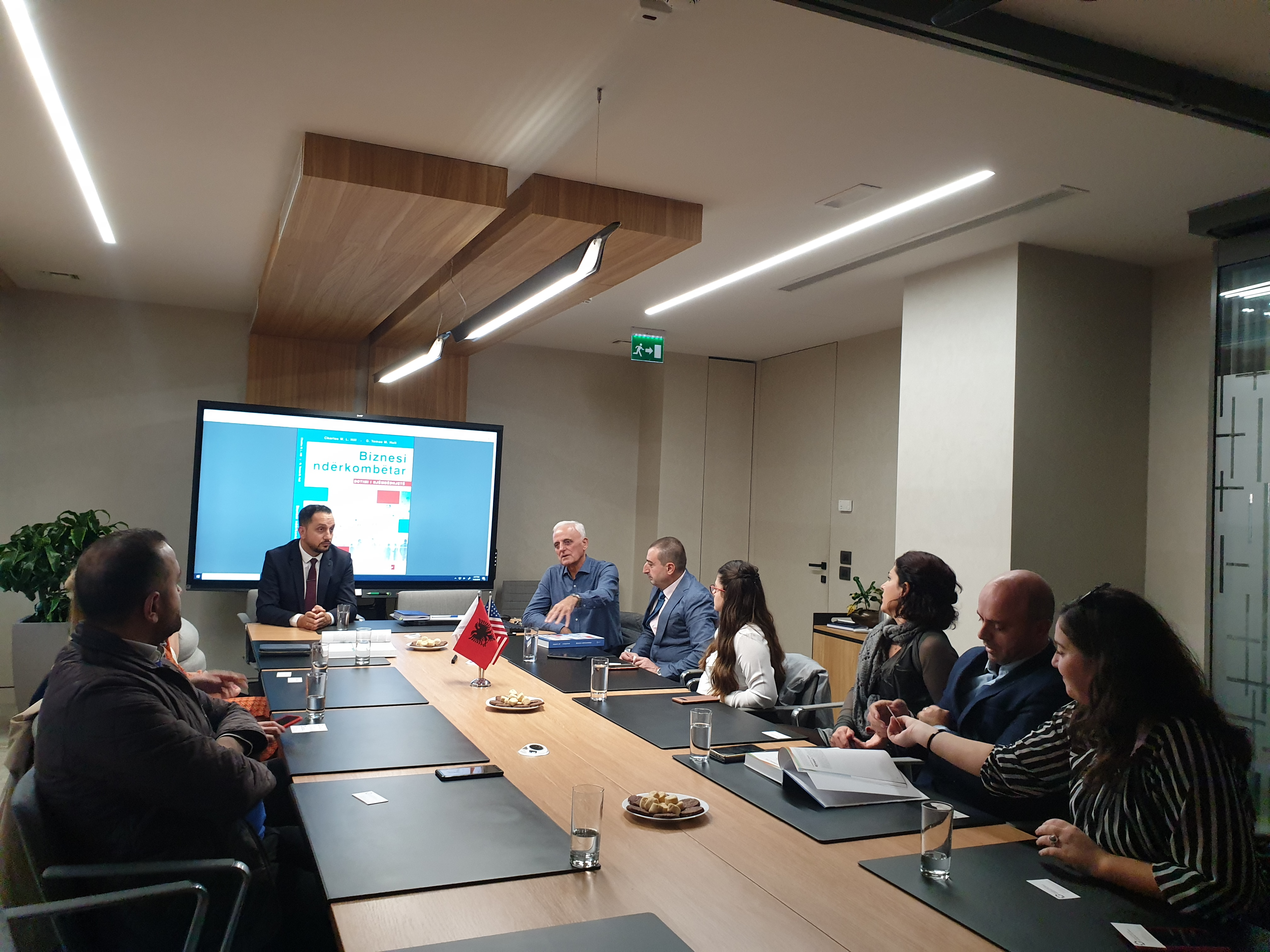 Roundtable Discussion with professors on International Business textbook