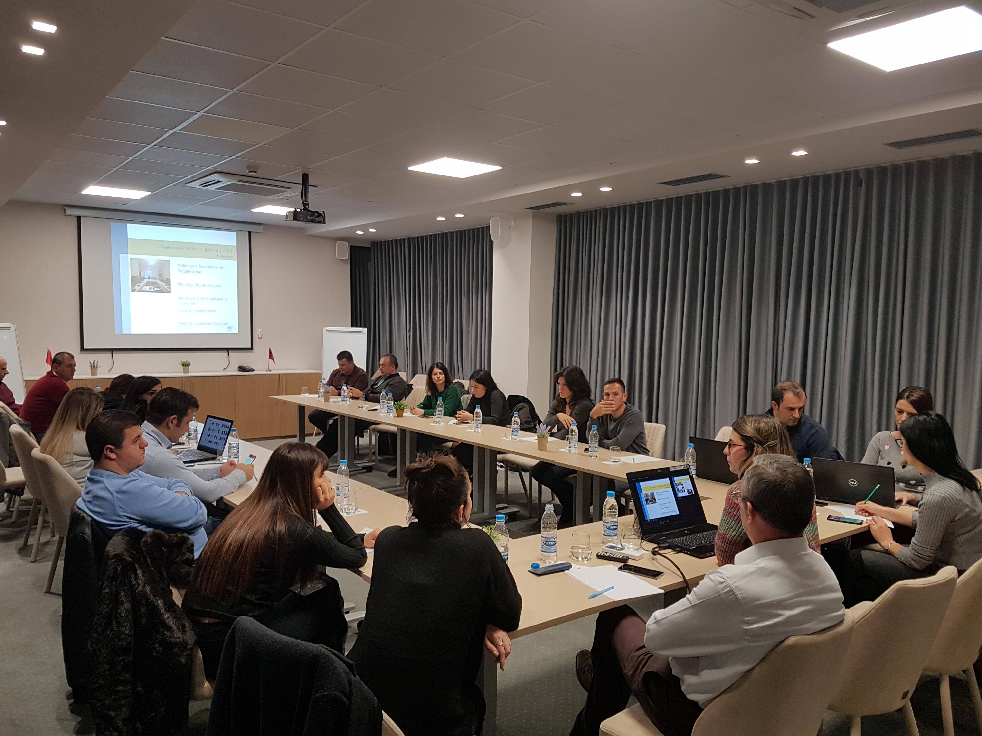 National BID/TID Network meeting, Berat