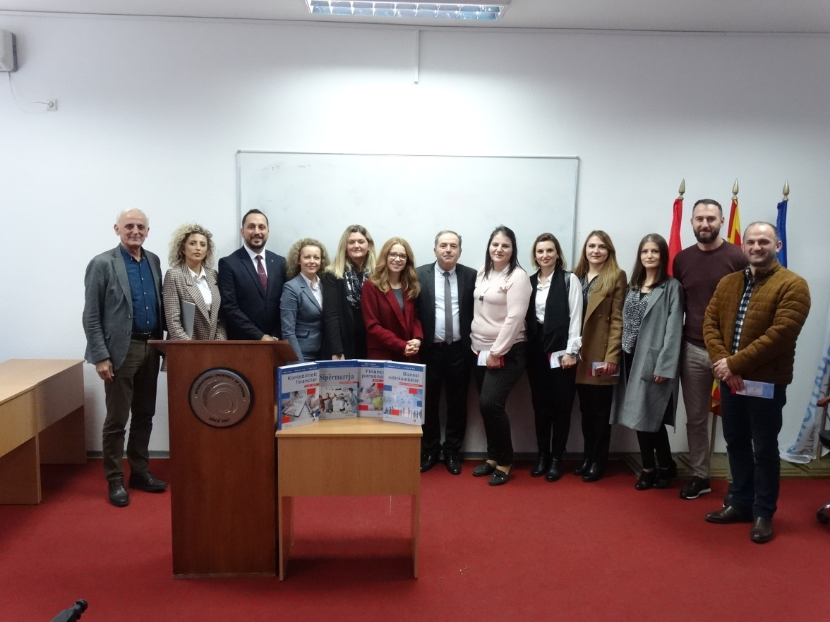 Promotion of the books: Financial Accounting, International Business, Personal Finance and Entrepreneurship in North Macedonia