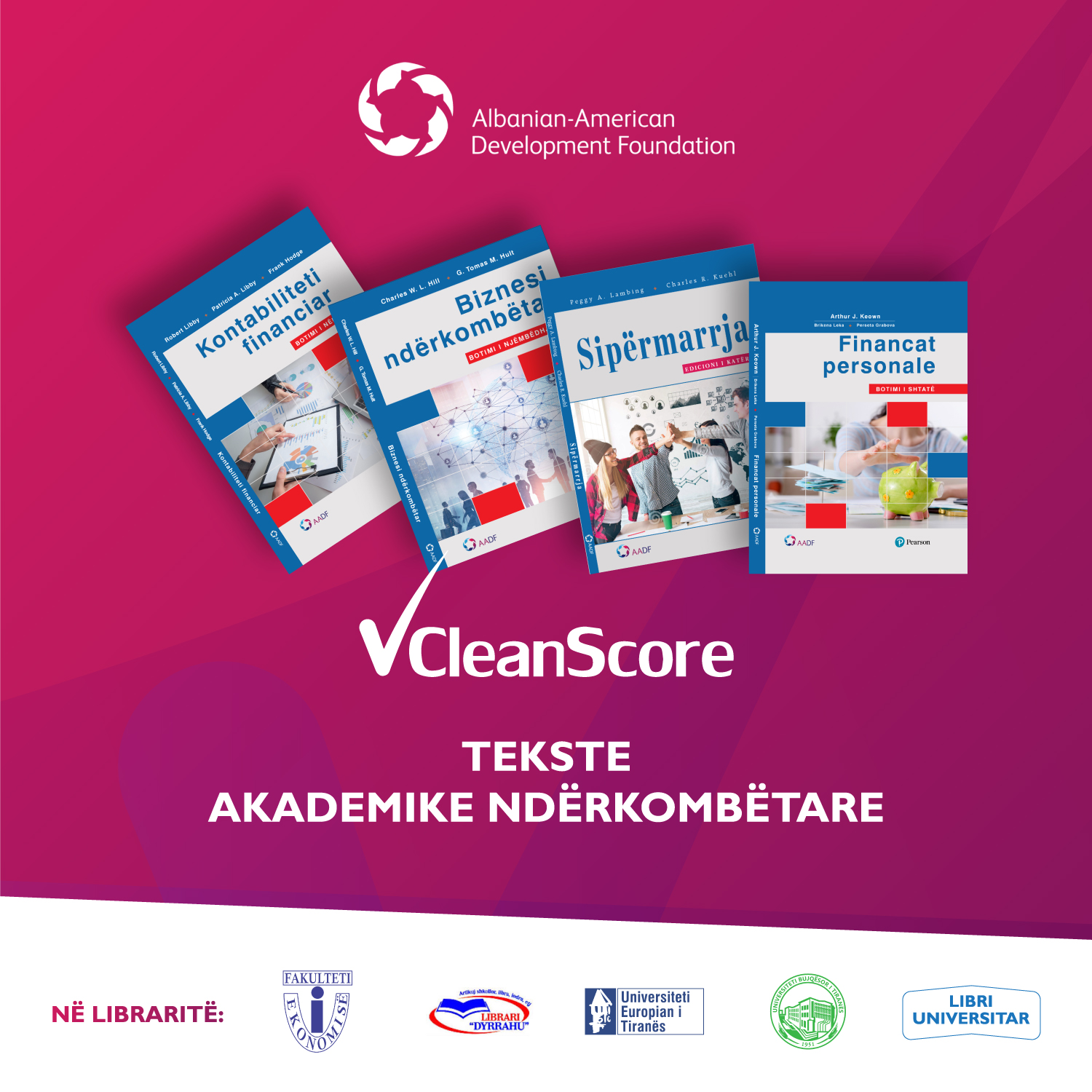 CleanScore academic textbooks now available for sale!