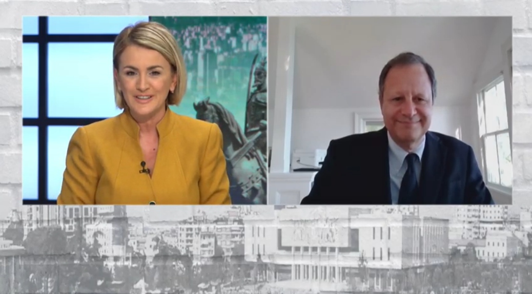 The interview of AADF Chairman of the Board of Trustees, Mr. Michael D. Granoff with Ms. Ilva Tare – ILVA NOW – Euronews Albania – 19 October 2020