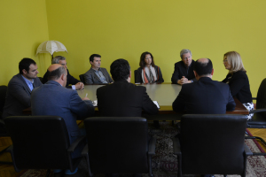 Meeting with V.Ademi